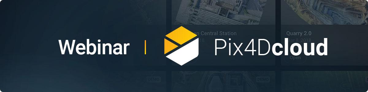Pix4Dcloud Procesa, analiza y comparte proyectos en la nube