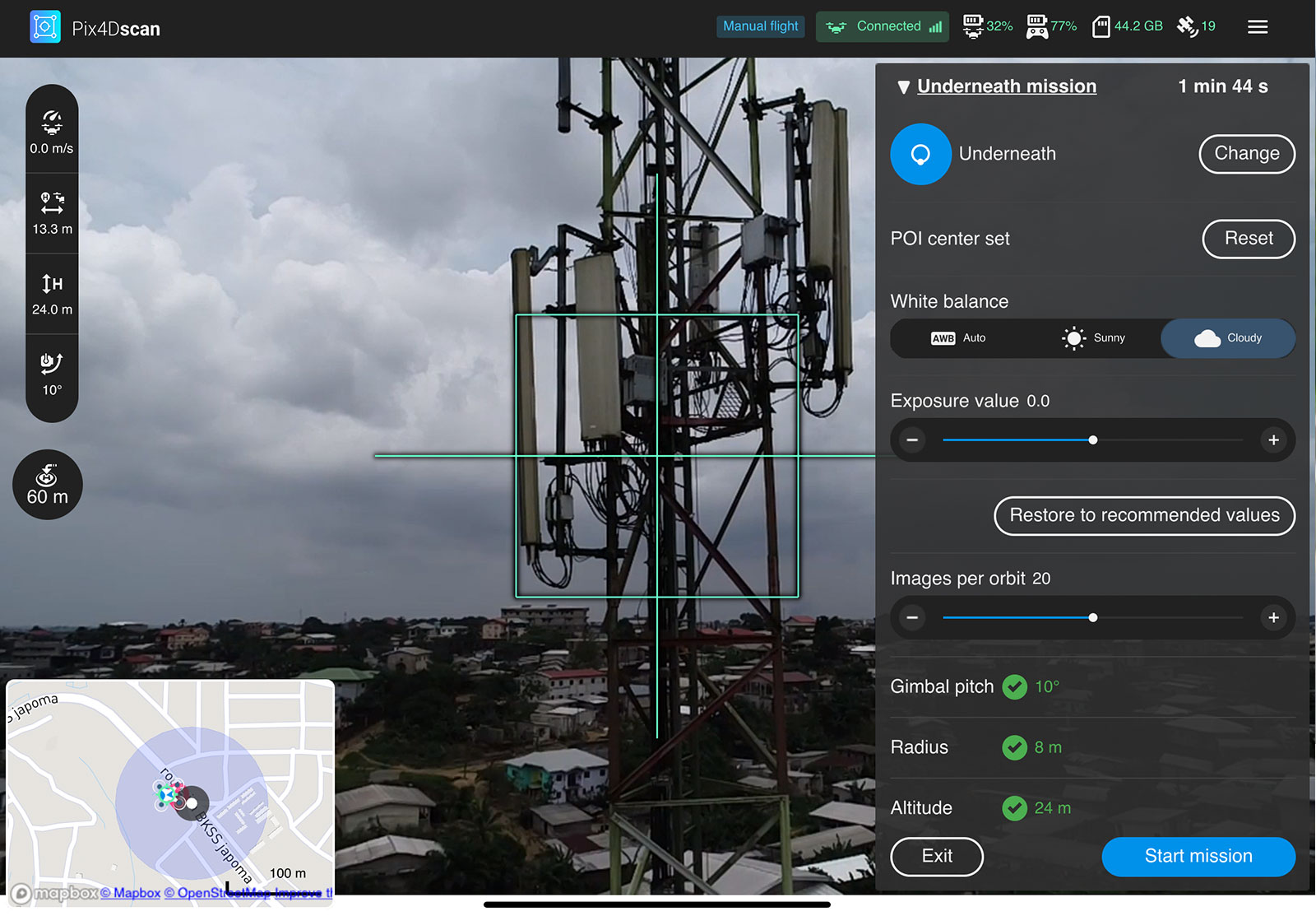 SkyVue Use Case Pix4D