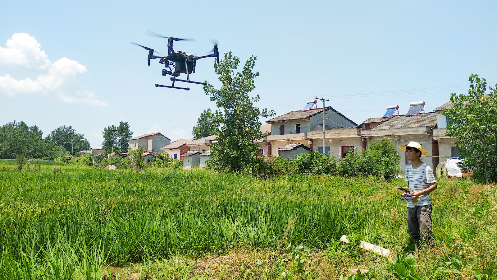 Flying the DJI Matrice 200 for collecting multispectral images