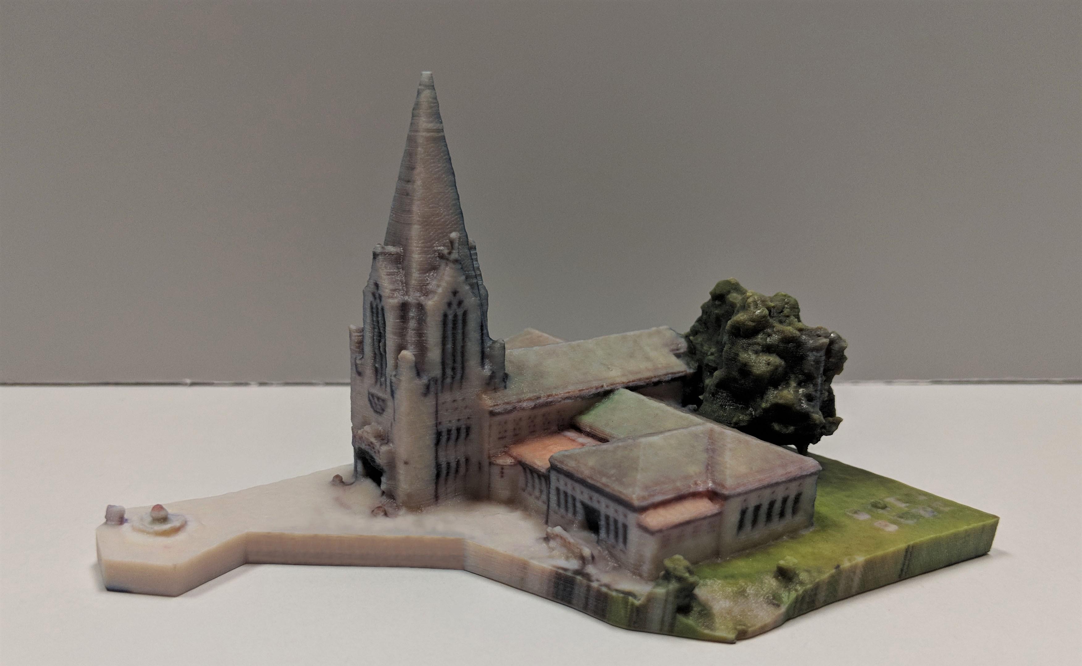 3D printed model Pix4D