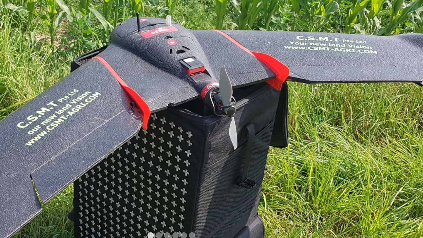 Pix4Dfields drone mapping with senseFly eBee SQ drone
