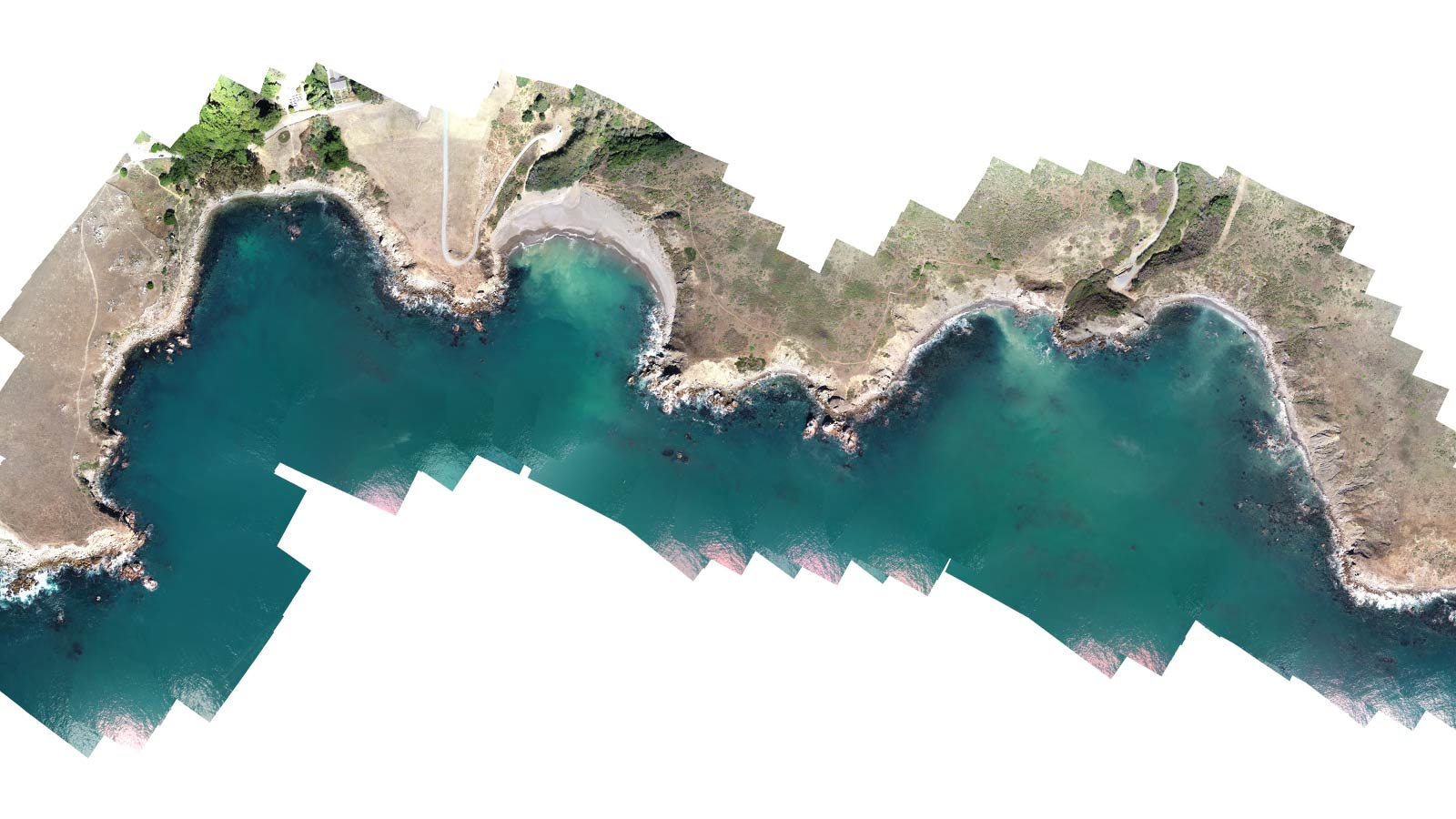 ocean-orthomoasic-with-drone-mapping