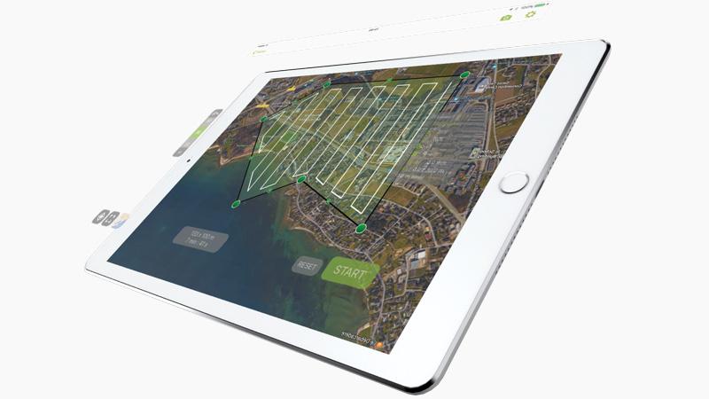 Aplicación gratuita de vuelo de drones para mapeo y modelado