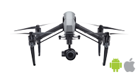 DJI Inspire 2 is one of the best drones for photogrammetry and aerial mapping using Pix4Dcapture