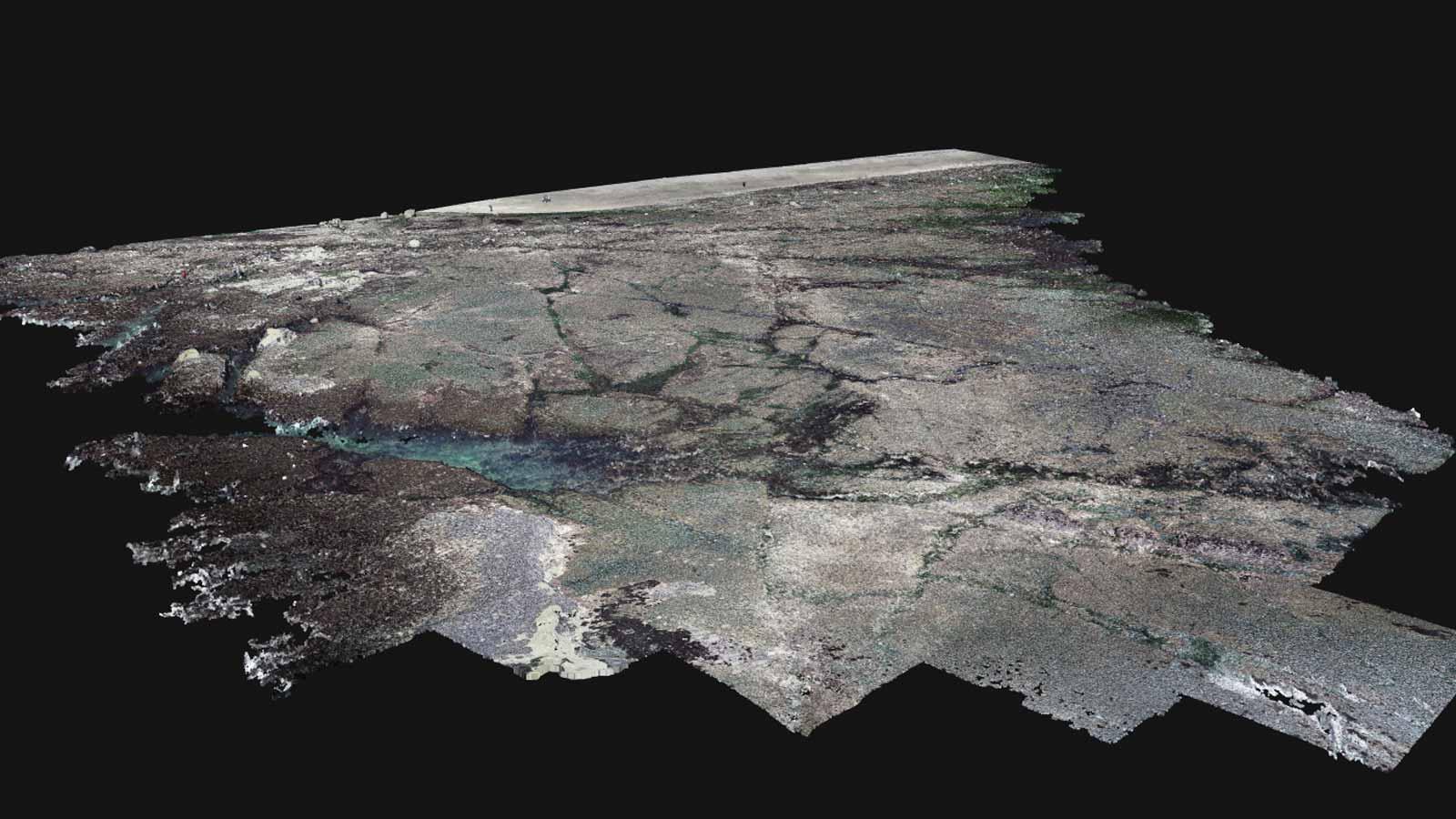 3d-model-of-a-rocky-coastline