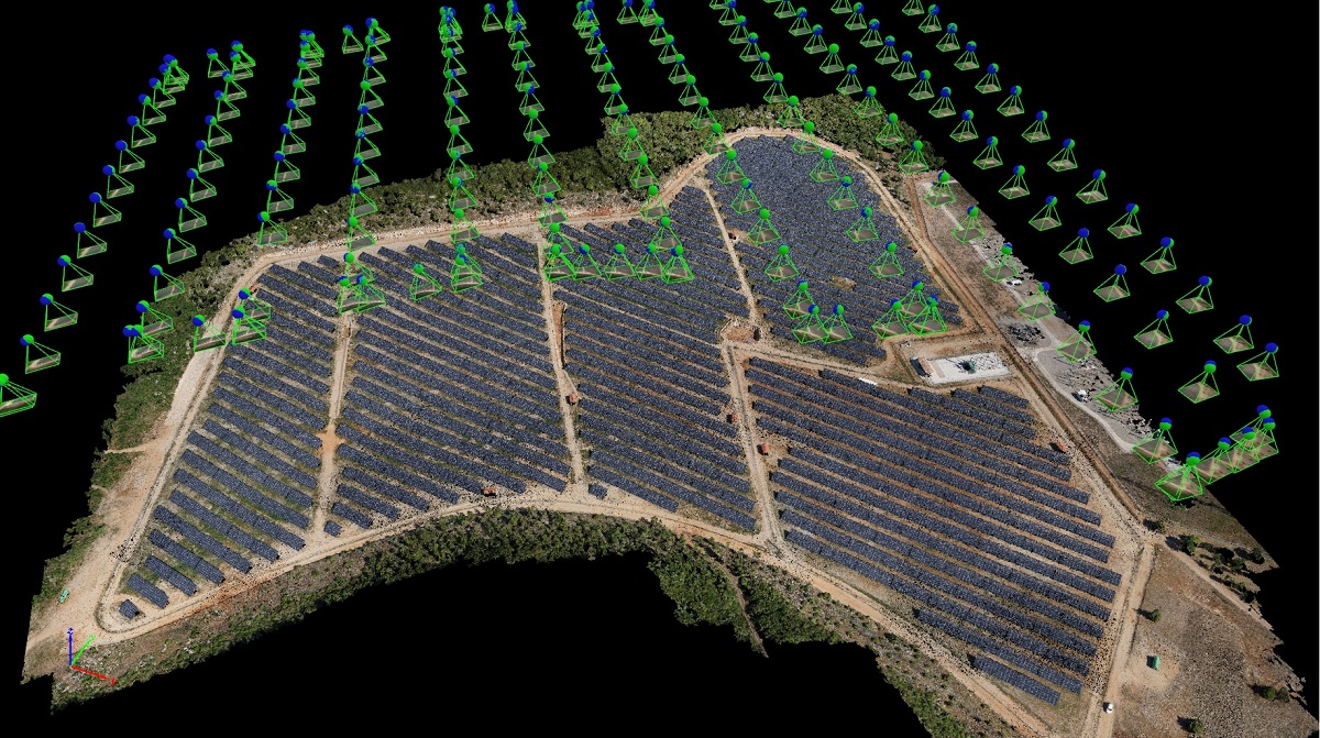 Smart inspection of a solar farm using drones | Pix4D