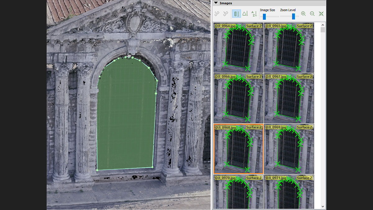 measure in 3D using photogrammetry software