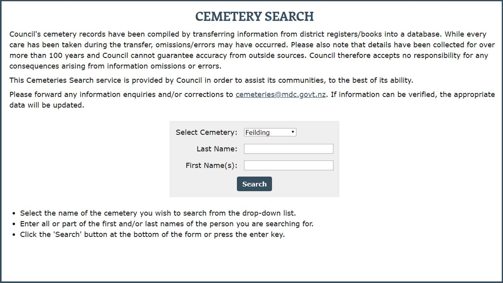 Find-a-grave-with-the-cemetery-search