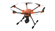 YUNEEC-H520 drone is fully supported by Pix4Dcapture mobile app for optimal mapping and 3d modeling