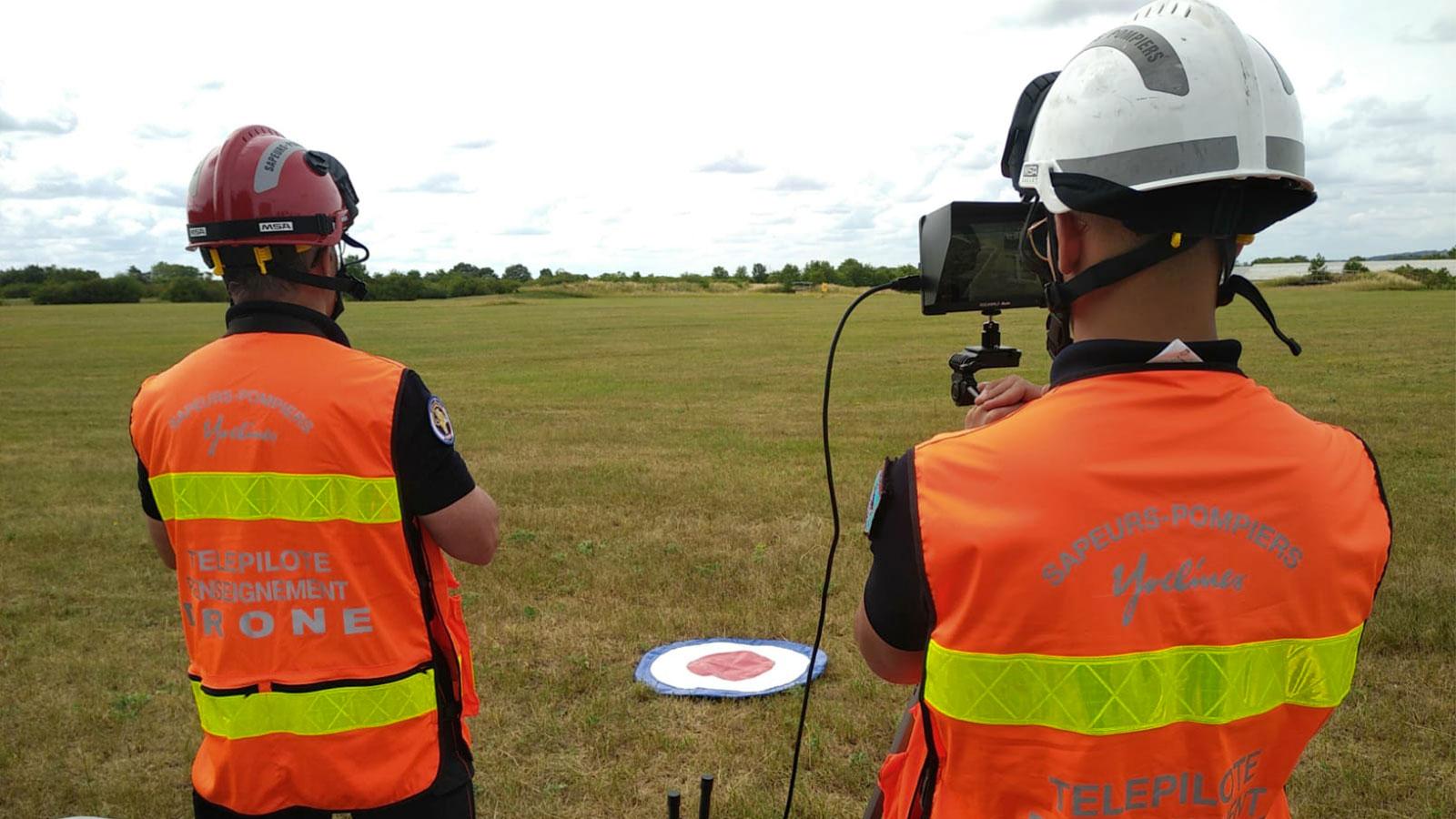 pilots working in the field