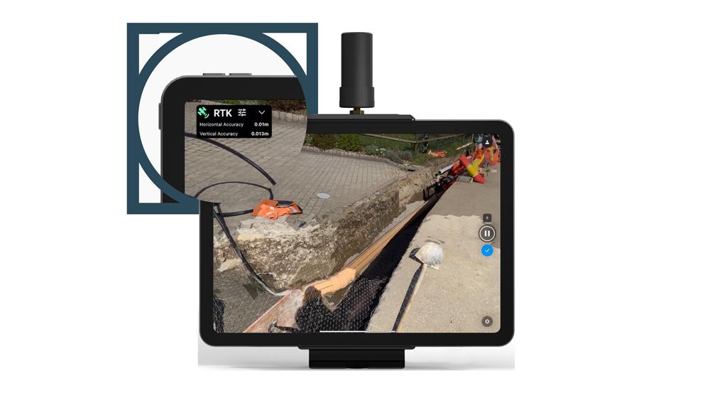 Pix4D's Raycloud photogrammetry software on a screen