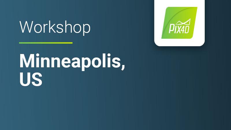 Pix4Dmapper workshop in Minneapolis