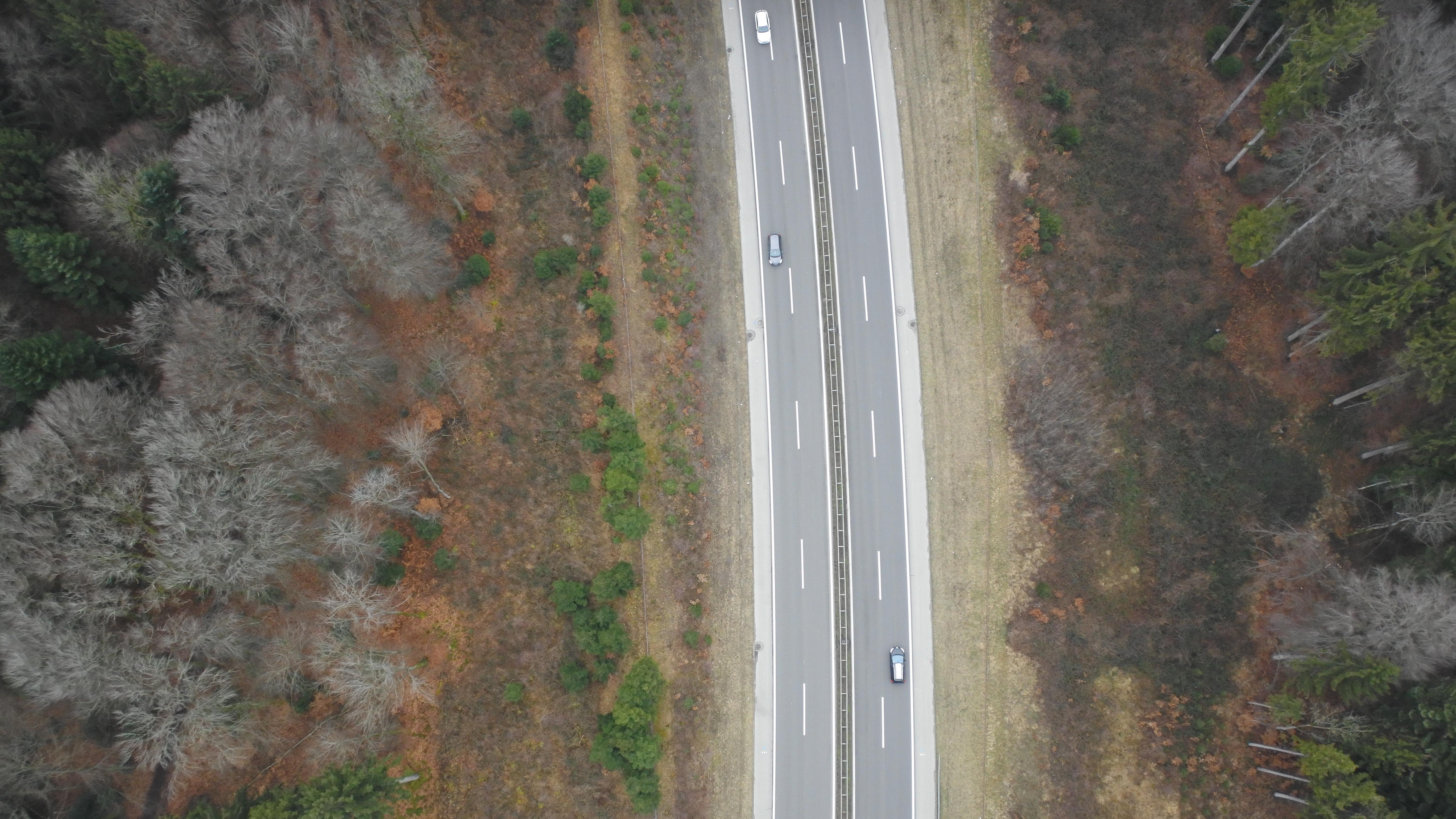 Die Vermessung einer 115km langen Autobahn aus der Luft mithilfe von Pix4Dmapper
