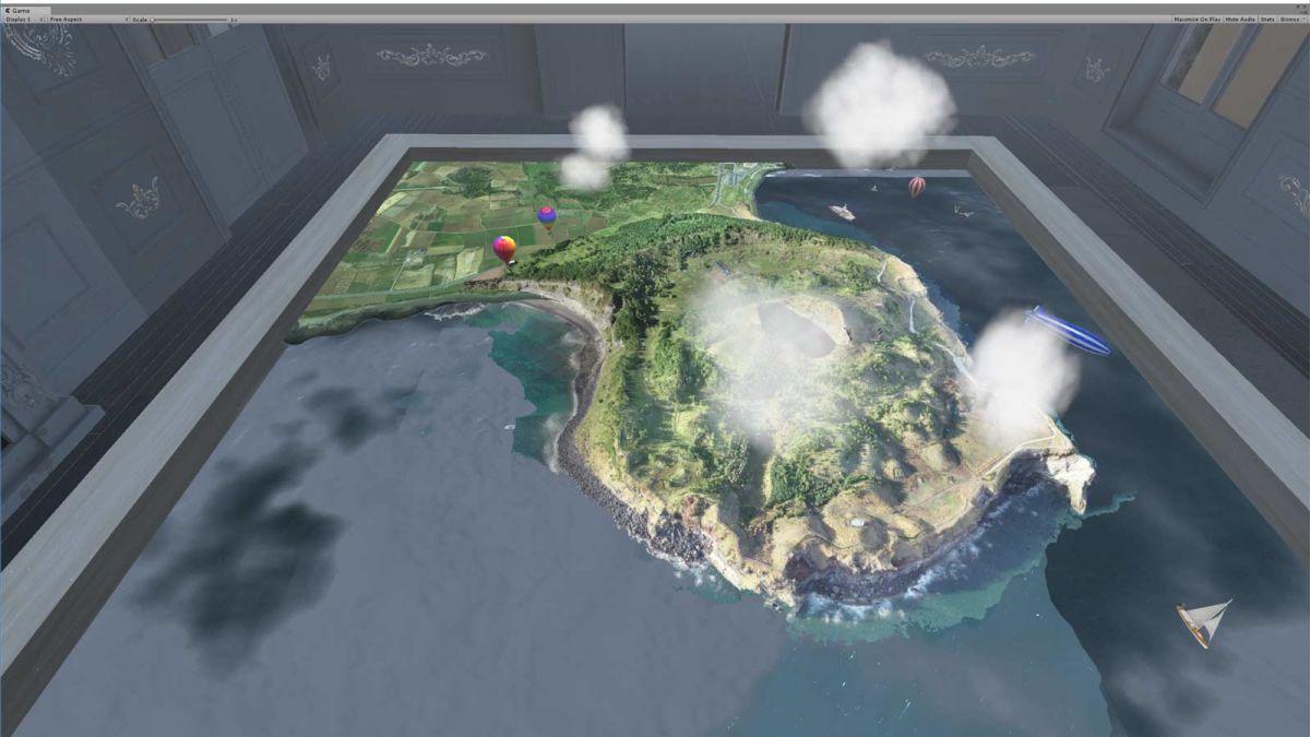 3D-digital-twin-VR-diarama-of-Jeju-island