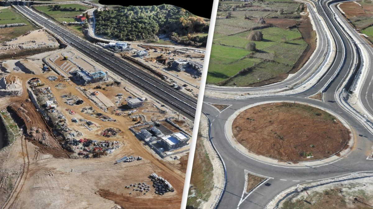 Drone mapping highway asset management