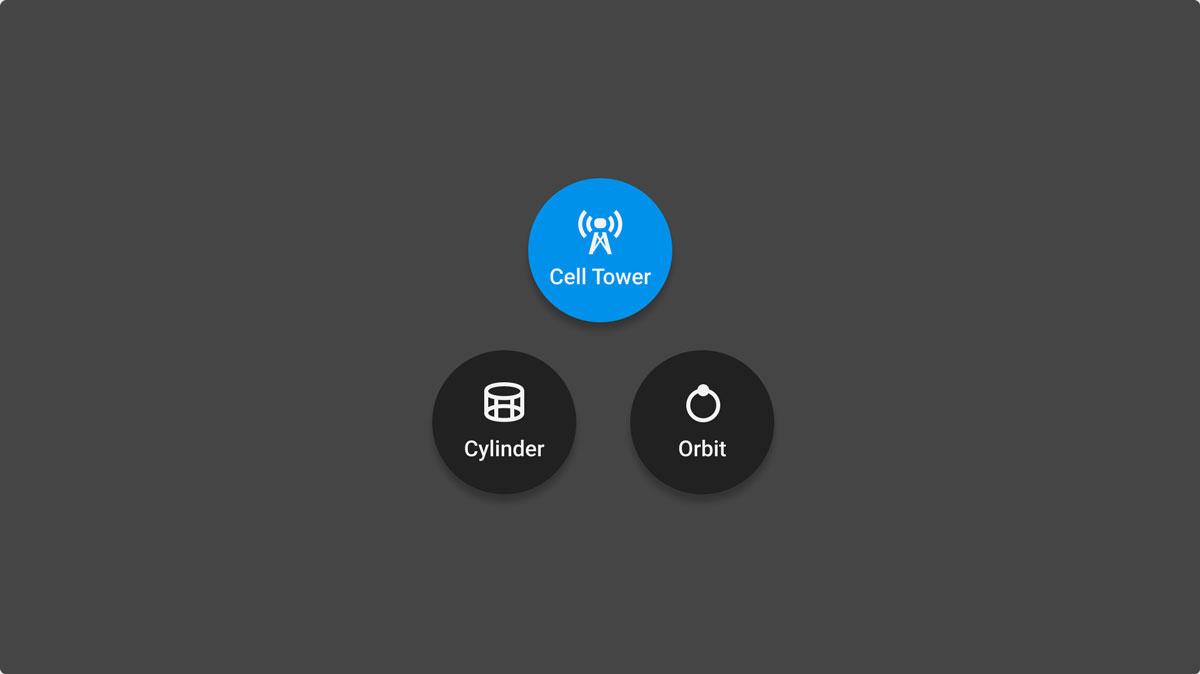einfache Drohnenflugauswahl per Fingertipp