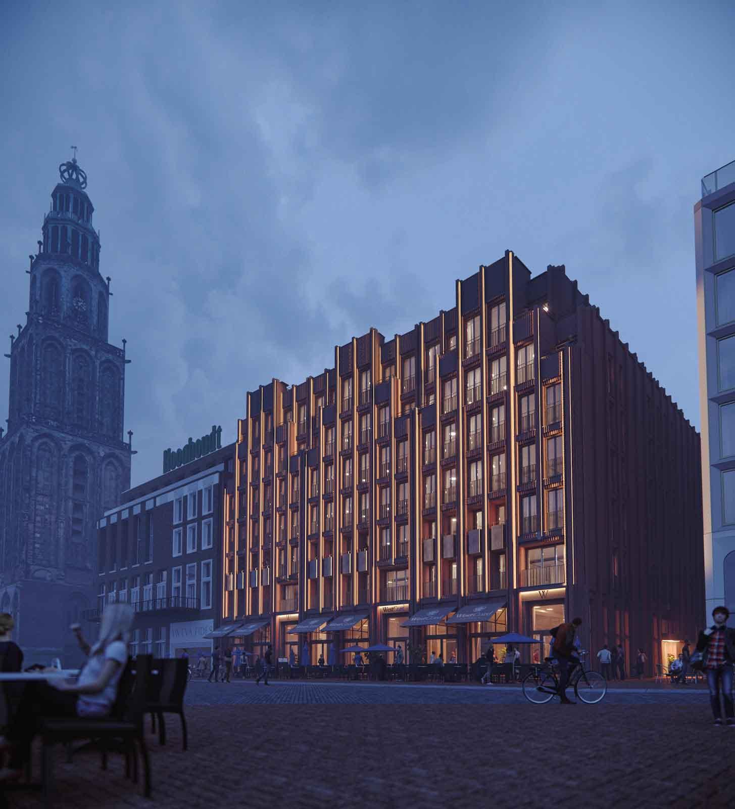 Rendering-of-Grote-Markt-hotel