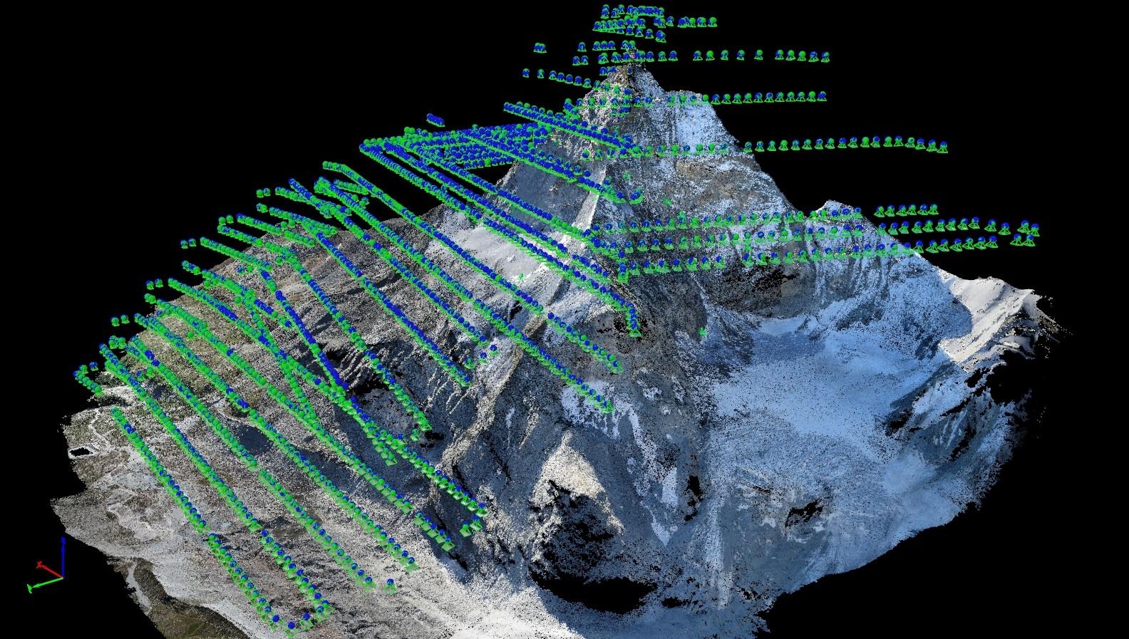 model of Matterhorn
