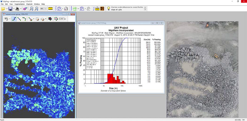 Pix4Dmapper outputs can be worked with in third party programs