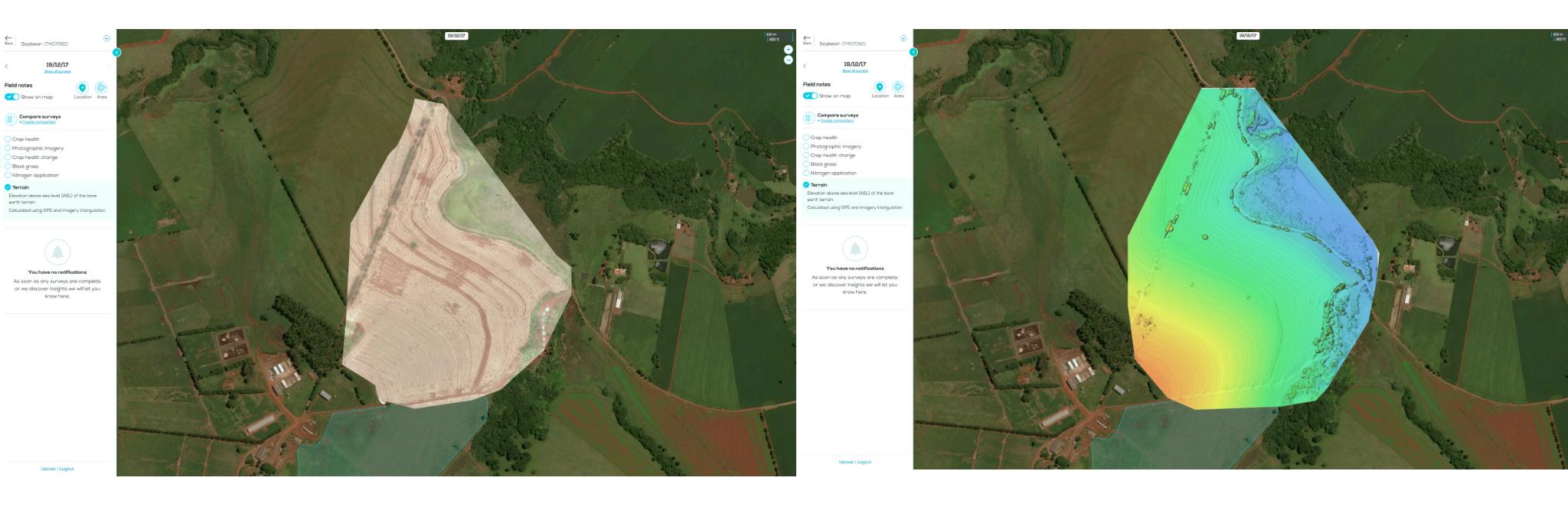 Pix4D Hummingbird RGB Terrain