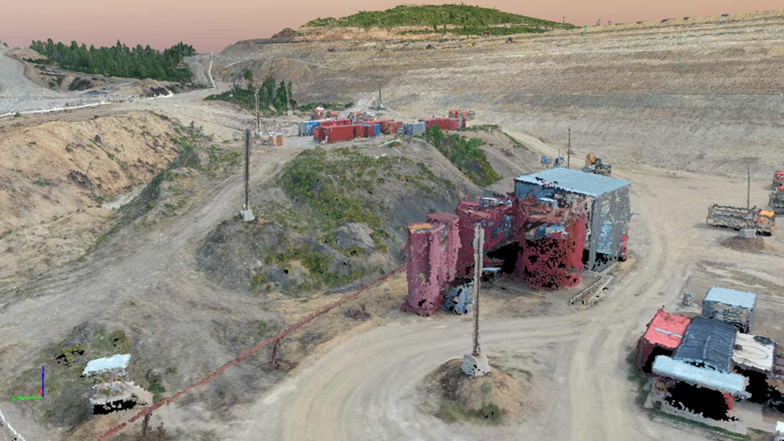 Reconstructed-3D-model-of-a-mine-site