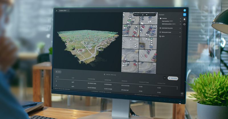 Photogrammetry software for professional drone mapping