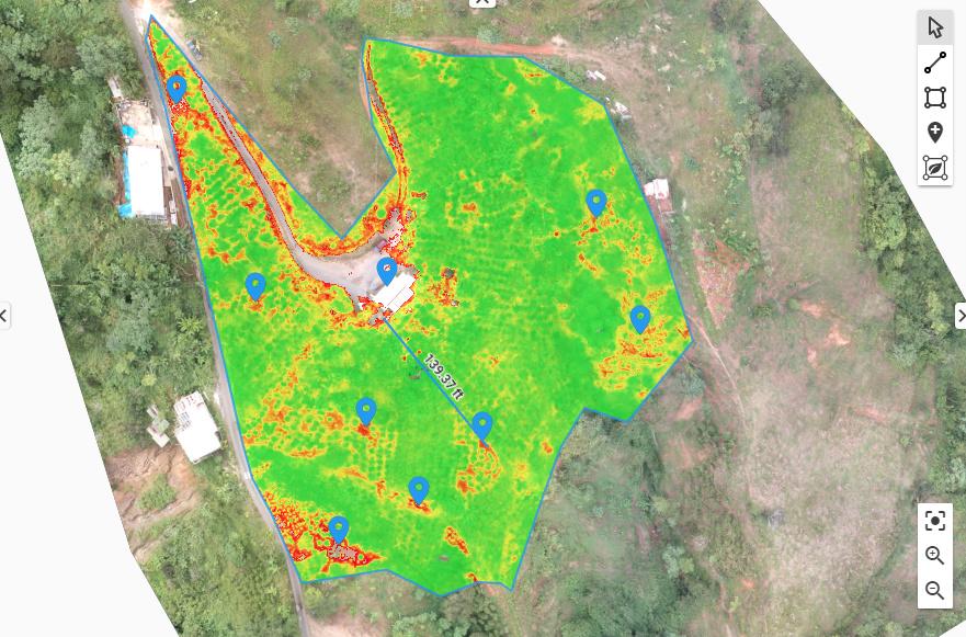 Pix4D Agriculture usecase drones climatechange annotations