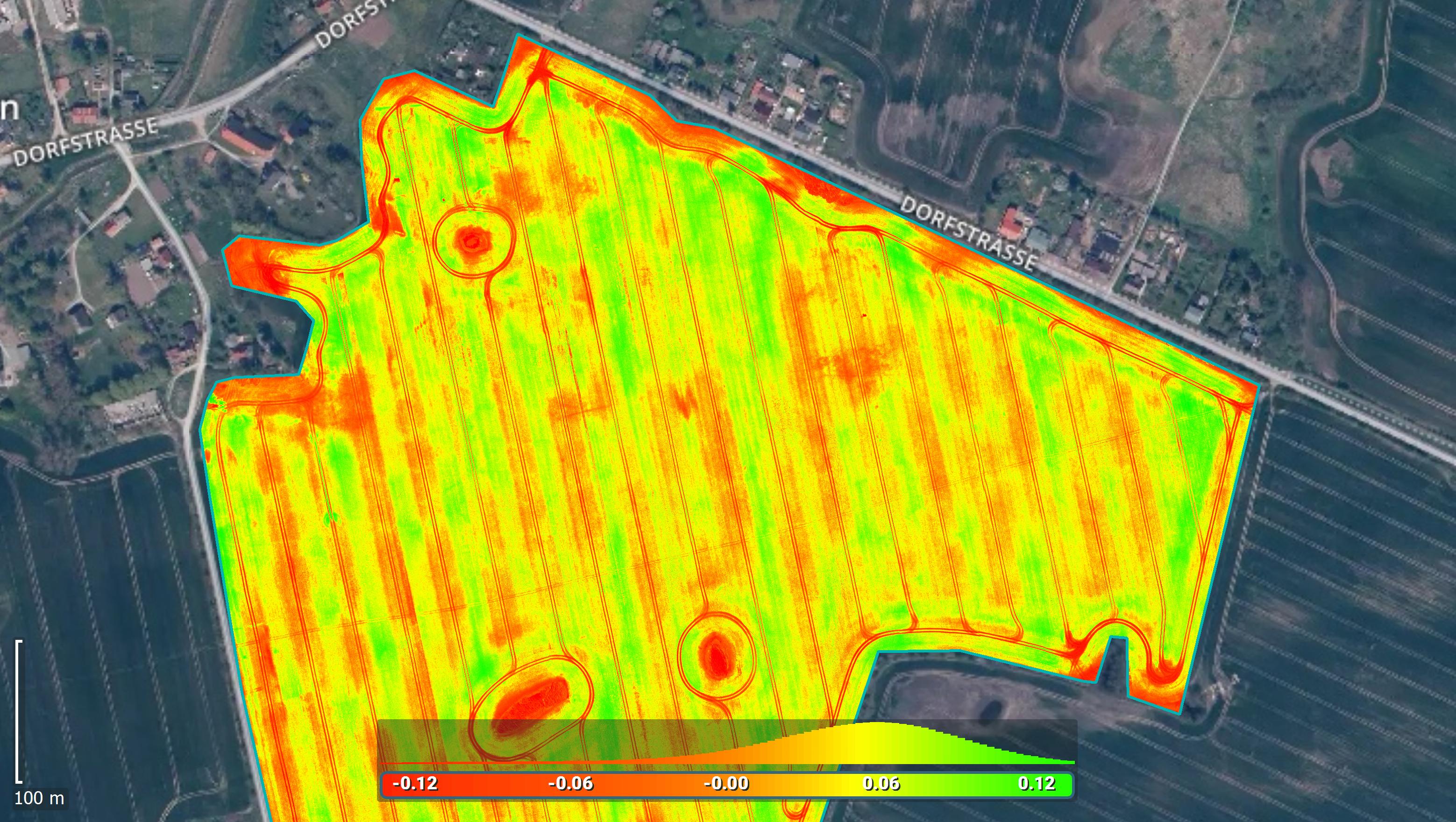 IMAGE OUTPUTS vegetation index map
