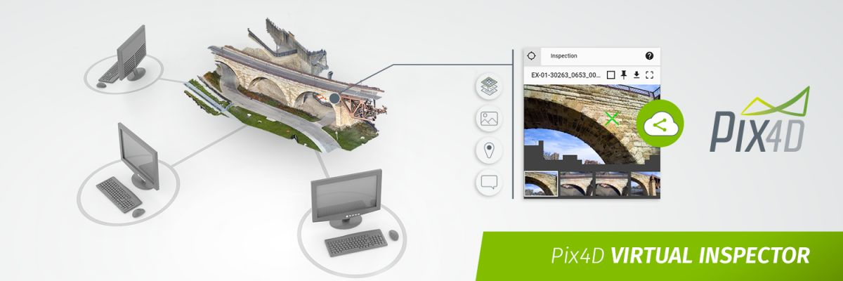 Pix4DCLOUD VIRTUAL INSPECTION