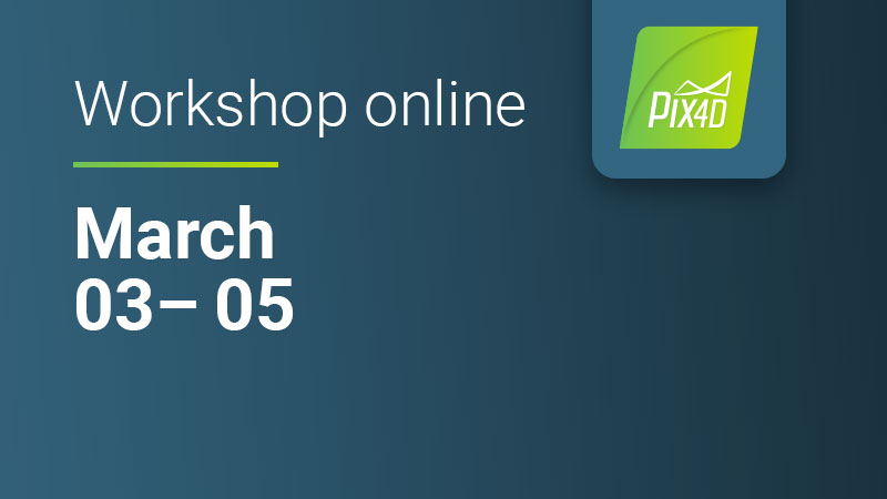Pix4Dmapper Essentials online