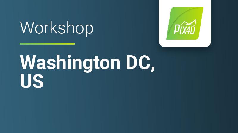 Pix4Dmapper workshop in Washington