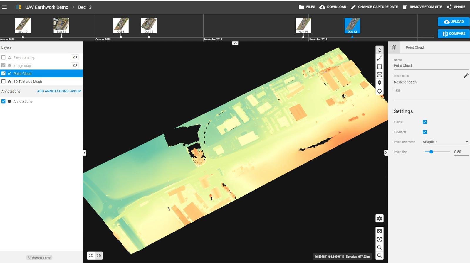 Managing-the-dashboard-in-Pix4Dbim
