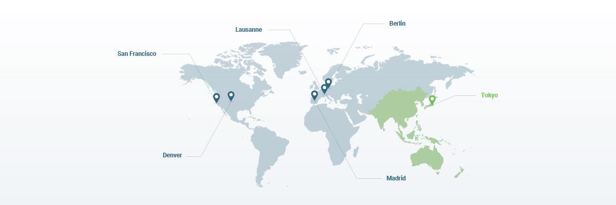 HEA CORP LandingPage PR pix4d-tokyo-office map
