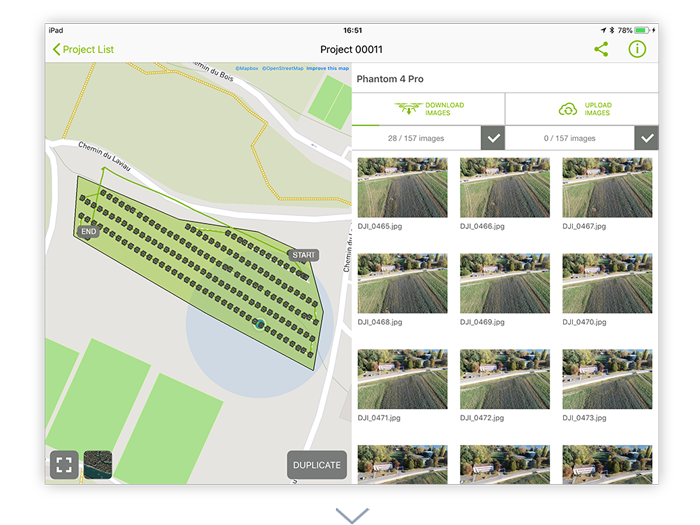 Pix4Dcapture: Free drone flight planning mobile app | Pix4D