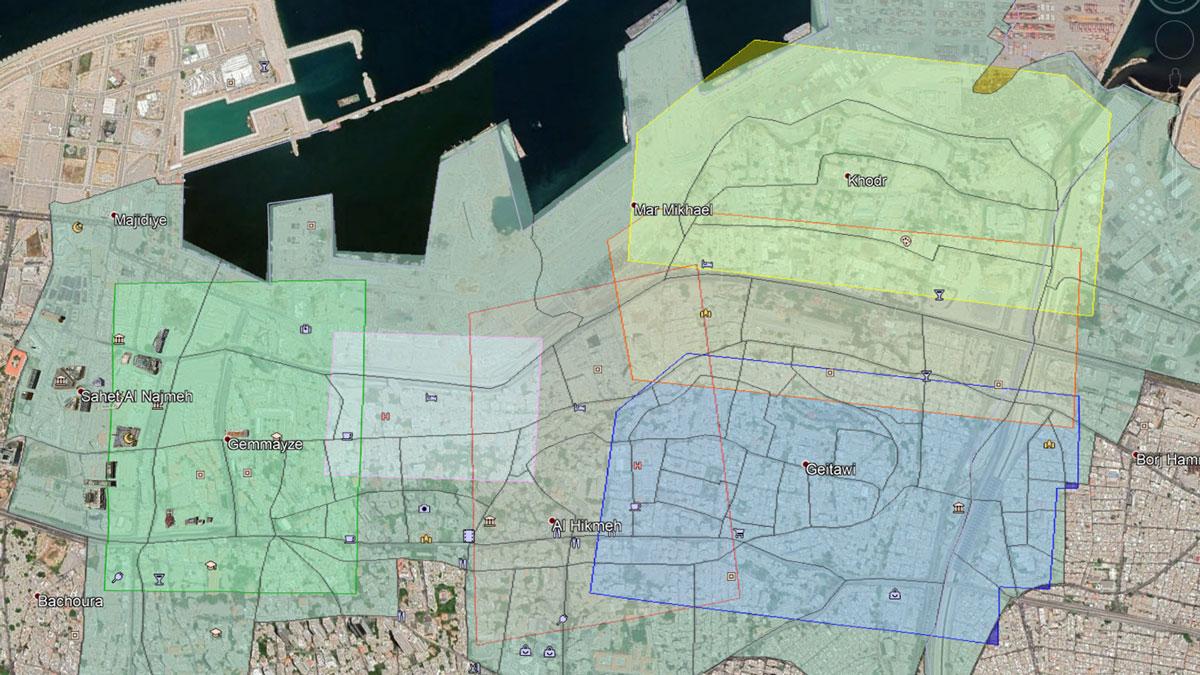orthomosaic map