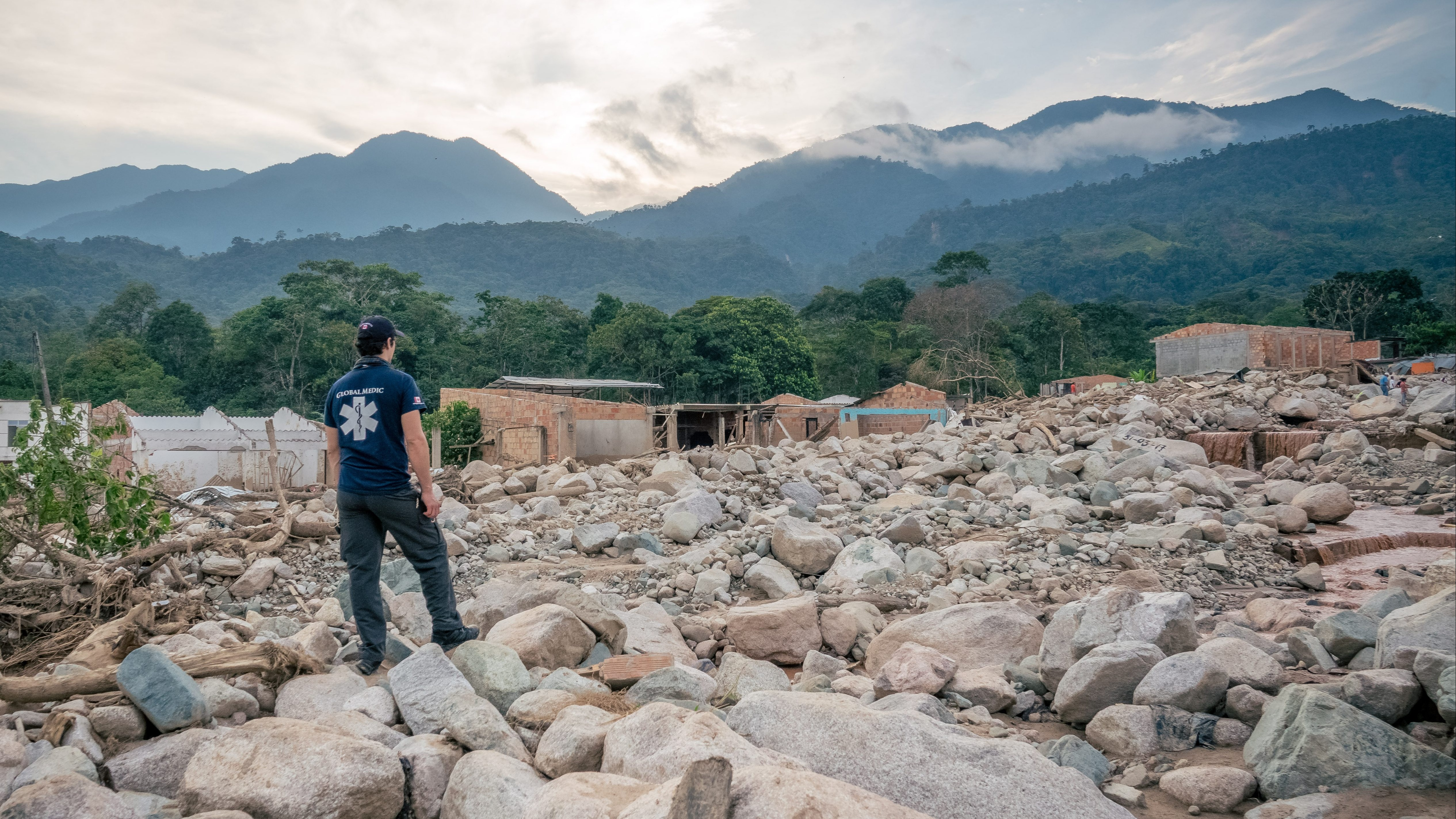 Drone mapping for humanitarian aid and civil protection