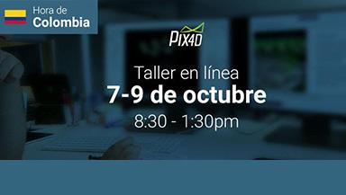 Pix4Dmapper Essentials workshop online