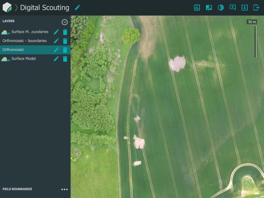 Mapeo 3D con drones más rápido para agricultura utilizando el nuevo software de procesamiento Pix4Dfields