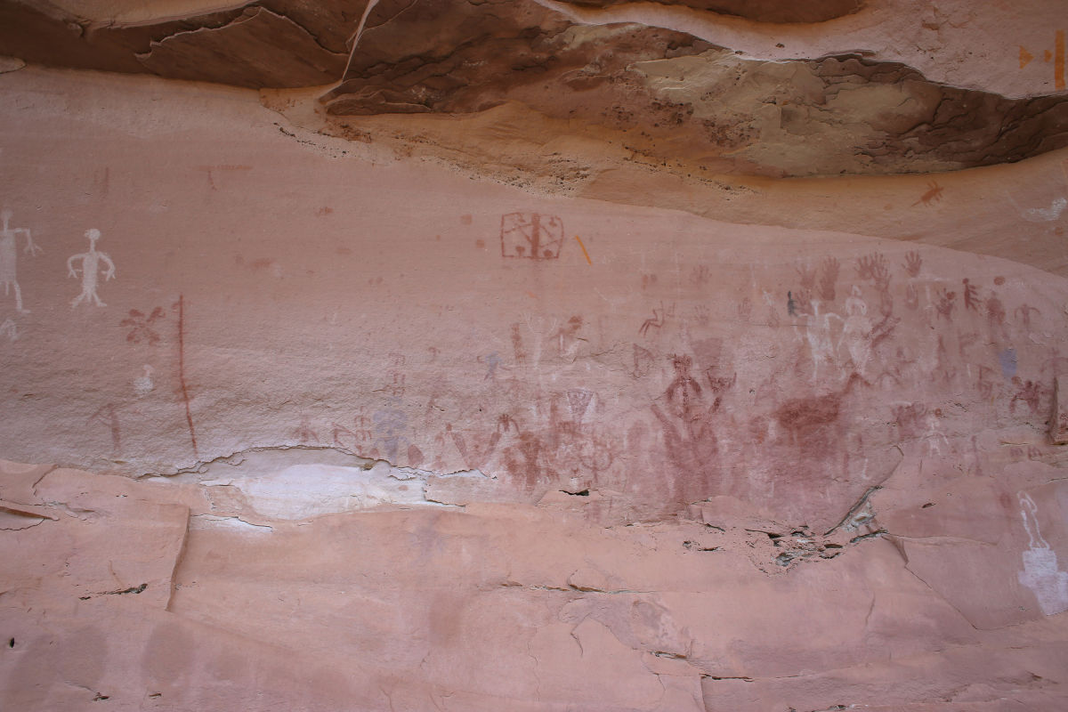 3D model of ancient rock art in Utah mapped with Pix4D