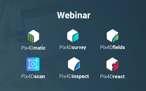 Pix4D new professional products webinar
