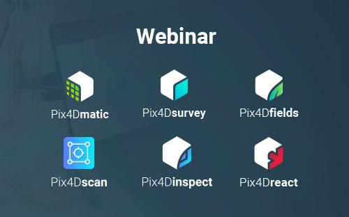 Pix4D nuevos productos profesionales