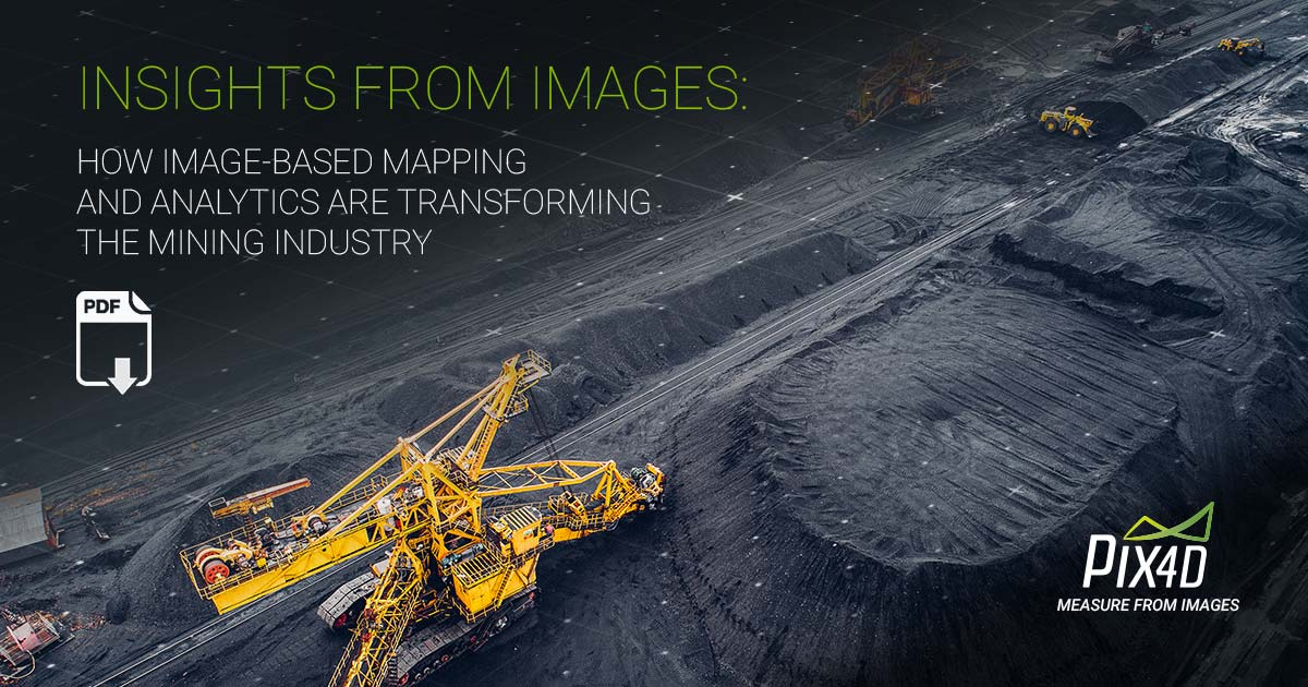 How drones and image-based mapping are ruling the mining industry