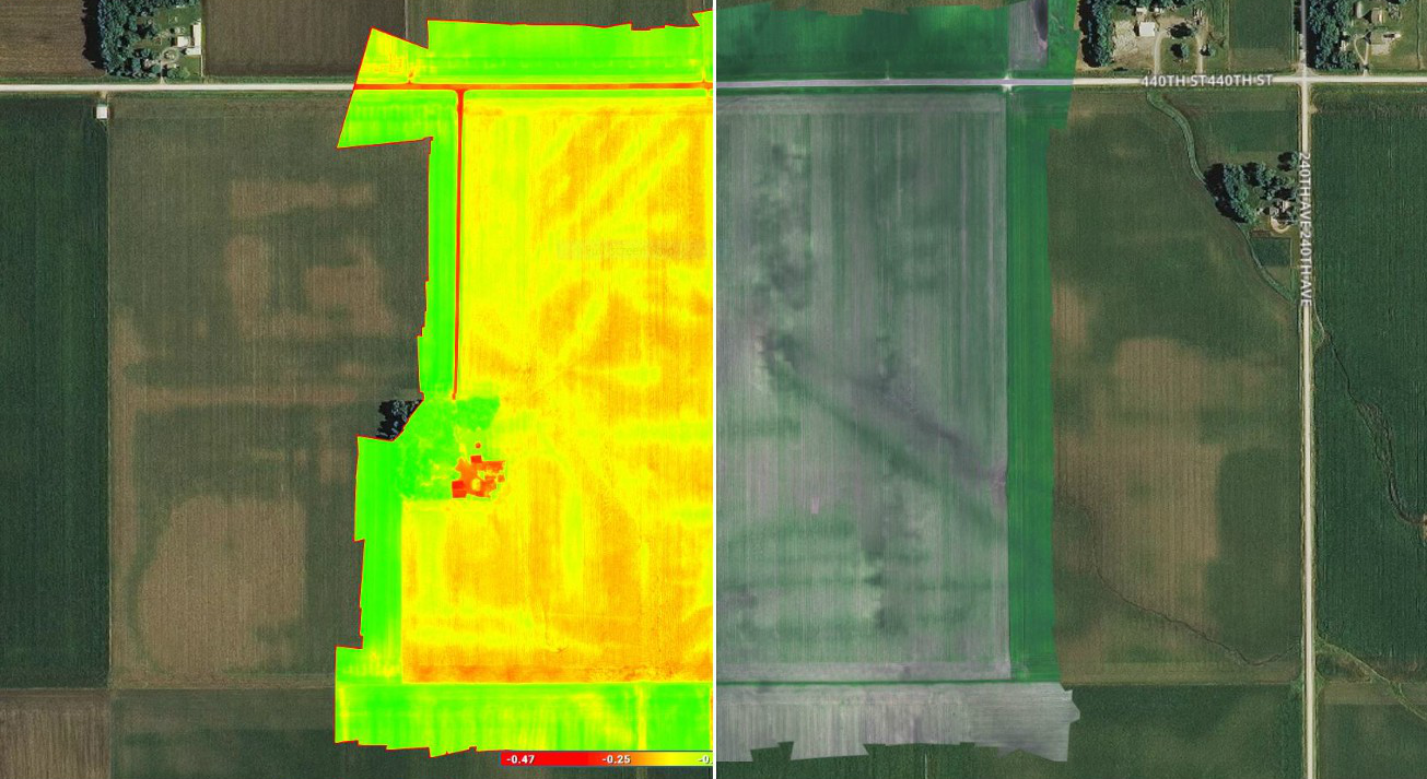 Pix4Dfields and MicaSense RedEdge webinar for agriculture mapping