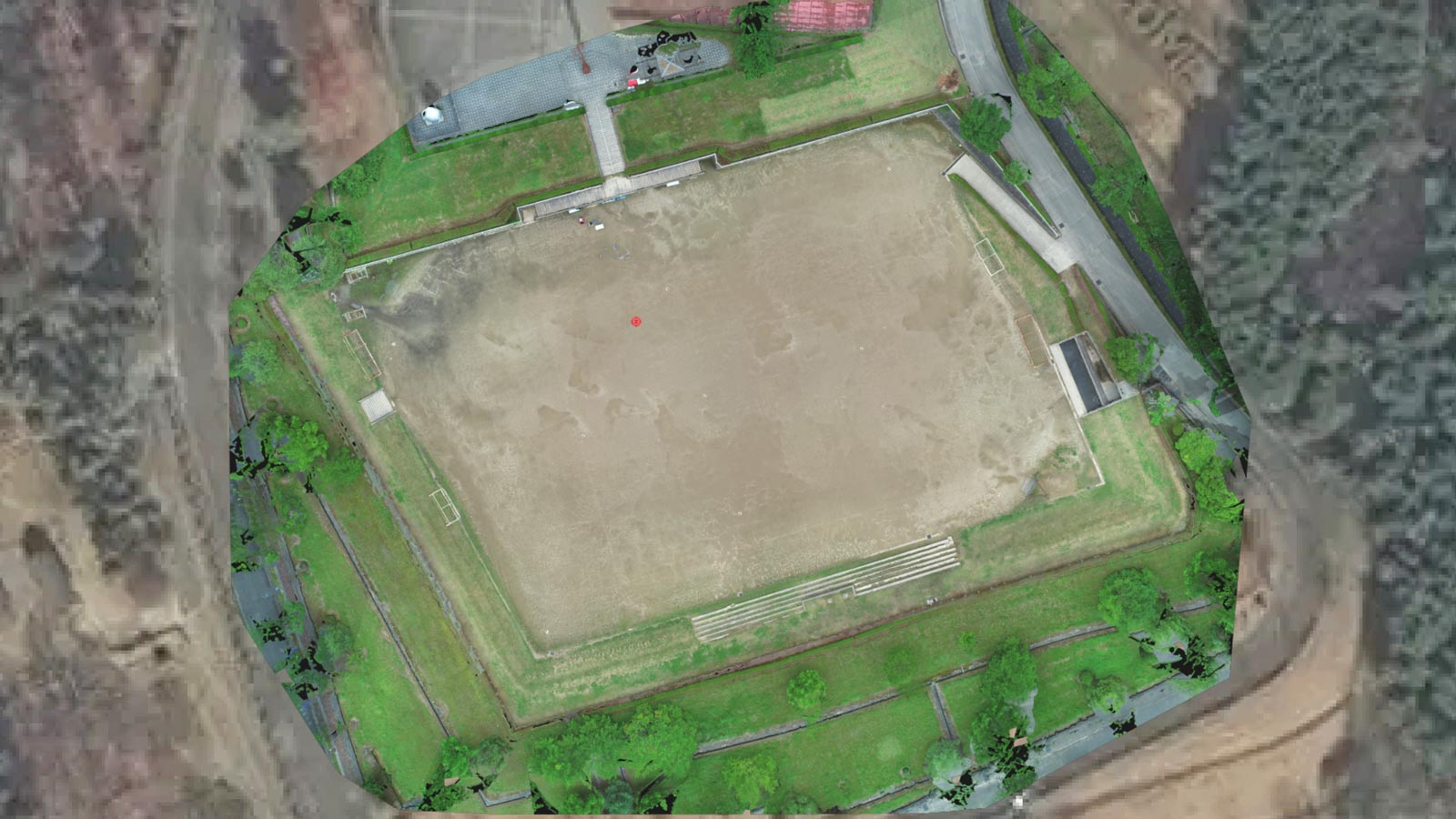 Testing-drone-mapping-on-a-sports-court