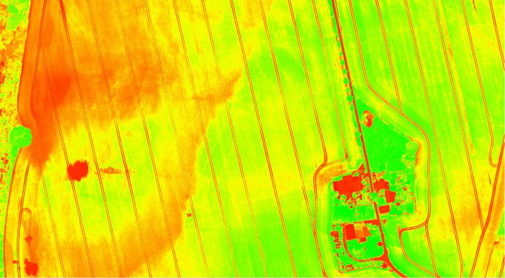 TGI – Triangular Greenness Index