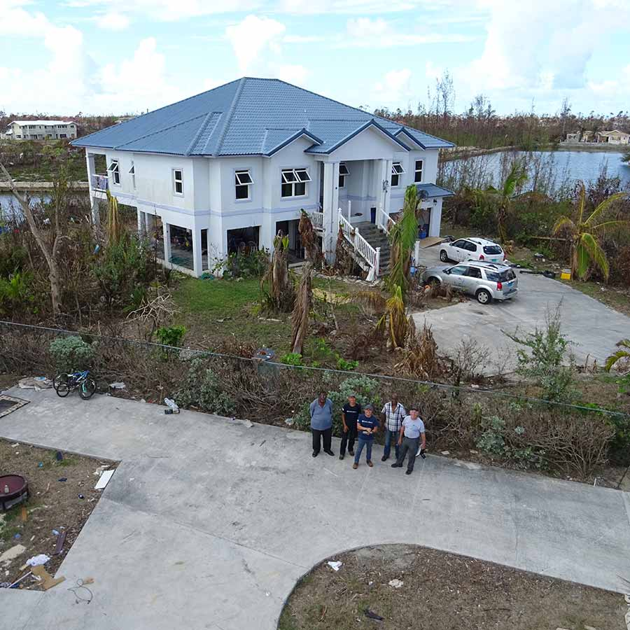 Mapping-a-hurricane-affected-area-with-a-drone