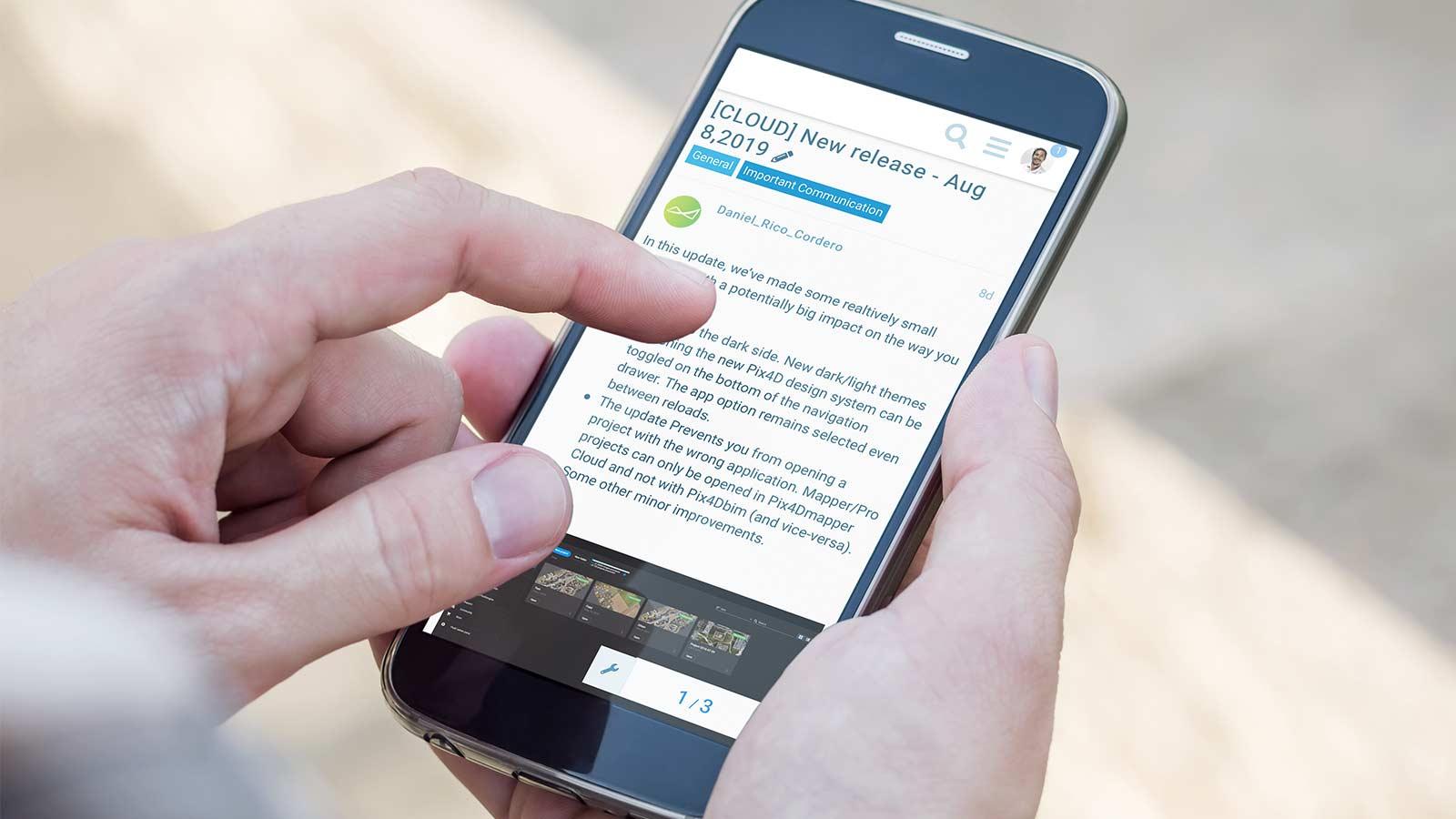 VIS BLO CORP 4-reasons-join-pix4d-community mobile