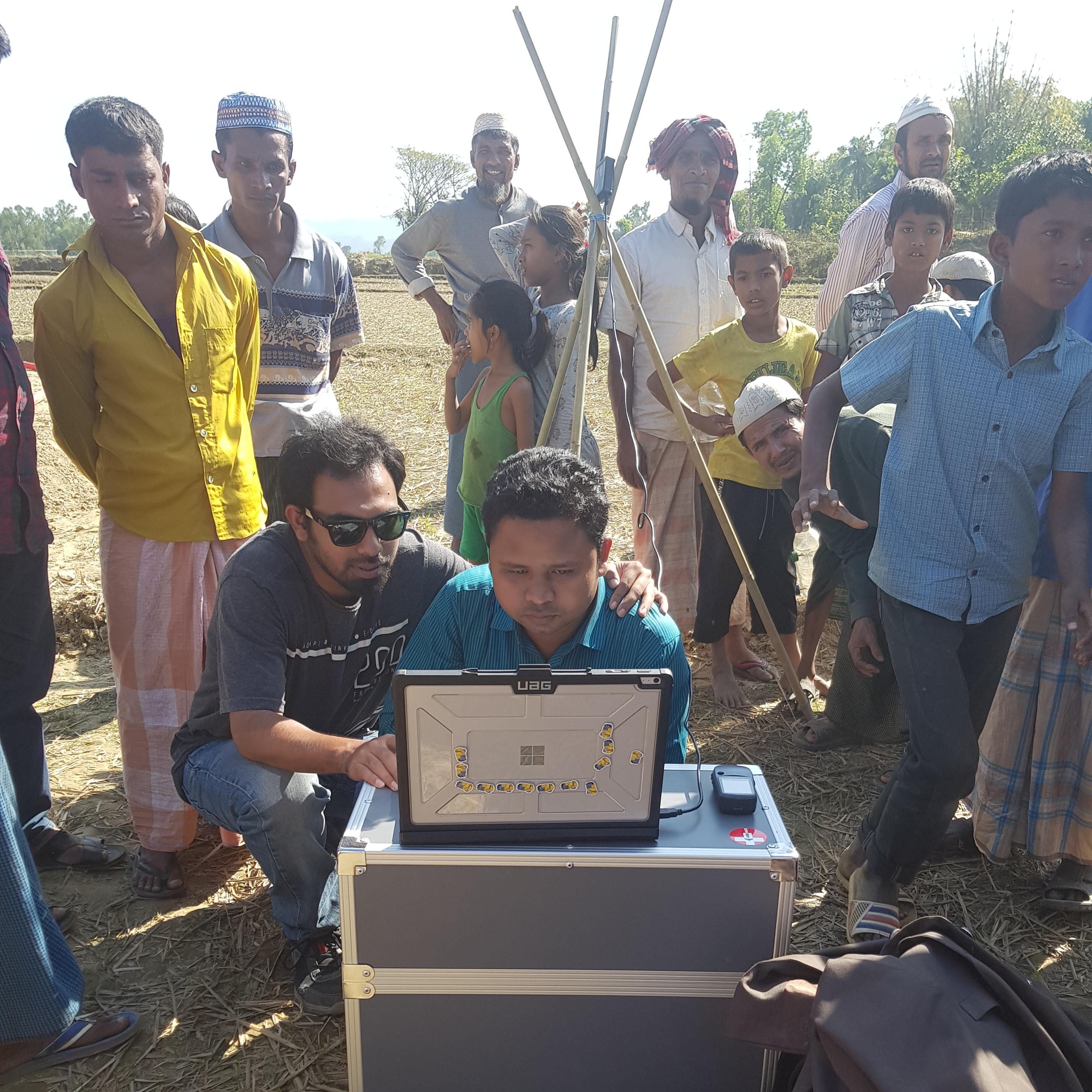 Working with Pix4Dmapper in the field