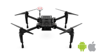 DJI Matrice 100 is one of the most flexible drones for drone mapping using Pix4Dcapture