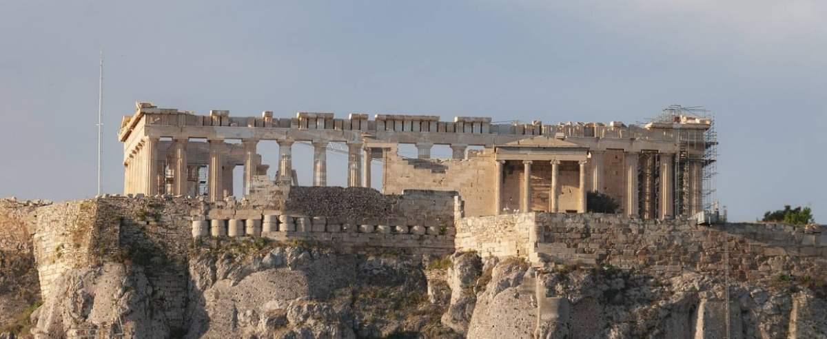 Ateny niesamowita historia